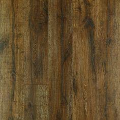 Pergo MAX Premier 7.48-in W x 4.52-ft L Bainbridge Oak Embossed Laminate Wood Planks