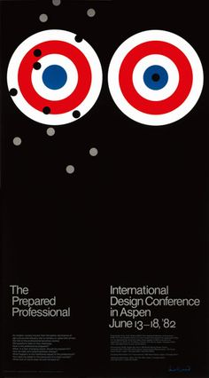 1982, Paul Rand : Aspen design
