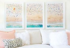 Big, bold artwork: http://www.stylemepretty.com/living/2016/05/17/every-home-deserves-a-statement-moment-heres-25-reasons-why/