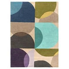 """• 100% wool construction<br>• Canvas backing<br>• Abstract pattern<br>• Medium pile; .5-1""""<br>• Hand tufted<br>• Spot clean only<br><br>Add a colorful touch to your space with the Surya Sisian Rug. The visually appealing pattern and durable wool construction will bring lasting style to your décor. Comfortable to walk on and able to withstand heavy foot traffic, this rug is the perfect..."""
