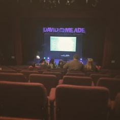 At the @davidmeadelive Show. Won these tickets! Free night out - Woop..    #mindreader #show #entertainment #londonderry #twitter #davidmeade