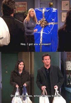 Friends - Chandler Bing - Phoebe Buffay - Monica Geller- Courtney Cox - Lisa Kudrow - Matthew Perry