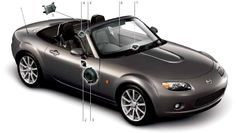 MX-5 Roadster NC Factory Stereos