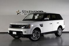 Land Rover : Range Rover Sport HSE Luxury...white with tan interior! My sweepstaking winnings WILL make this happen!!!!