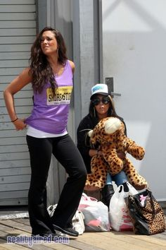 Jersey Shore star Sammi Opts For Different Look While Filming Season 6...we like it!