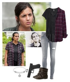 The Walking Dead - Tara - SEASON 7 SPOILERS IN DISCRIPTION by firewitch23 on Polyvore featuring polyvore fashion style H&M Madewell Dondup Episode clothing