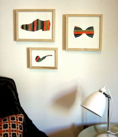 Create New Wall Art out of Contact Paper Cutouts | 28 Functional And Beautiful Ways To Decorate With Contact Paper