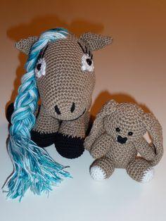 Pferd und Hasi