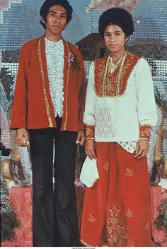 Moluks bruidspaar