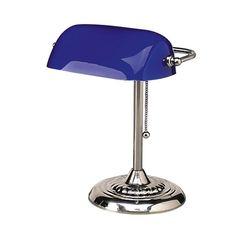"Ledu Corporation Bankers Lamp, 14""H, Uses 60W Incandescent Bulb [ID 146735] #LeduCorporation"