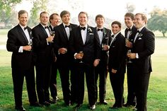 5 Types of Groomsmen You'll Find at Every Wedding | Brides.com