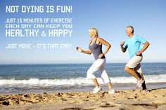 Don't let age stop you from living a healthy lifestyle with your partner...