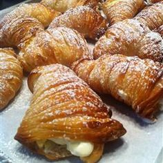 Lobster tail pastry- American version of sfogliatelle ricce