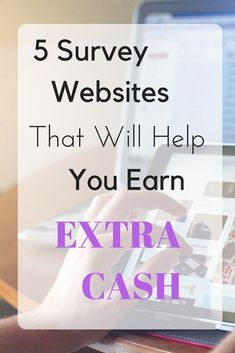 Trying to figure out ways to earn some quick, easy cash. I have a list of a few different websites listed that will help you earn some money for those vacations you are saving up for! Online Surveys is...