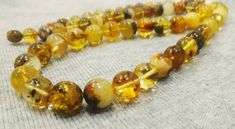 Your place to buy and sell all things handmade Ball Necklace, Necklace Sizes, Necklace Lengths, Beaded Necklace, Beaded Bracelets, Baltic Amber Necklace, Amber Bracelet, Amber Beads, Amber Jewelry