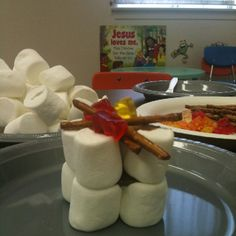 May 15 lesson Elijah's altar snack the story of fire from heaven Sunday School Snacks, Sunday School Projects, Sunday School Activities, Sunday School Lessons, School Ideas, Bible Story Crafts, Bible School Crafts, Preschool Bible, Bible Stories