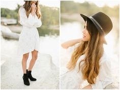 Julia | McKinney Falls, Sunrise Portraits | Haley Rynn Ringo Photography