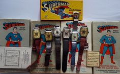 Superman Watch Collection