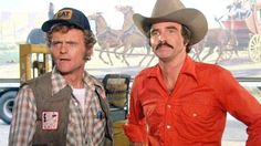 'Smokey and The Bandit' Burt Reynolds jerry reed 1977 Trans Am, Bandits Costume, Movie Stars, Movie Tv, Jerry Reed, Smokey And The Bandit, Burt Reynolds, Comedy Tv, Good Buddy