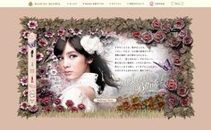 世界観+JS仕様  http://www.shiseido.co.jp/mj/story/index.html