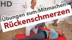 Rücken Übungen // Rückenschmerzen, Faszien Training, Übungen für den Rüc...