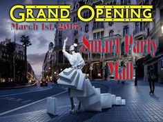 Smart Party Mall..... Grand Opening....One Stop Shop..... Don't have time for Live Parties? You can find your Smart Party Vendors in one spot.... www.asmartparty.com/smart-party-mall.html