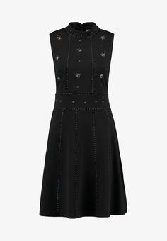 mint berry Koktejlové šaty   šaty na párty - black - Zalando.cz b6a93b4bcd8