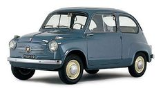 Fiat 600...drove this for quite a while around 1967-68.. engine's in the back.