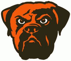 The Fathead NFL Team Logo Wall Decal is made from tough, tear and fade-resistant vinyl and features high-resolution graphics. Go Browns, Browns Fans, Cleveland Browns Football, Cleveland Indians, Cleveland Rocks, Nfl Logo, Team Logo, Dog Football