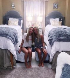 Dorm Room Pink And Grey And Dorm Bedding Ideas By Color Smart And Stylish Modern Dorm Rooms. New Dorm Room Bedding 2018 Hottest Dorm Bedding. College Dorm Bedding, College Dorm Rooms, Dorm Room Bedding, College Apartments, Bedding Sets, Dorm Room Headboards, Girl Bedding, Studio Apartments, Small Apartments