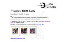 Tribe Talk: Luna Guitars!