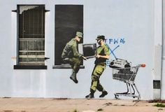 Banksy: The World's Most Famous Graffiti Artist   SMOSH