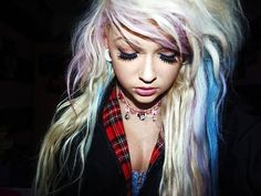 girl with gauges | Tumblr