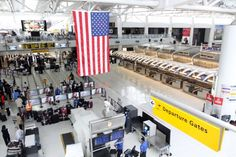 New York's John F. Kennedy International Airport resumes some service after being closed due to Hurricane Sandy on October 31, 2012