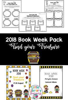 CBCA Book Week 2018 of… | Book Week 2018   Find your Treasure
