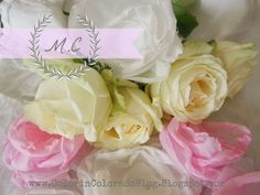 Yummy Roses Tutorial! www.ColorinColoradoBlog.blogspot.com