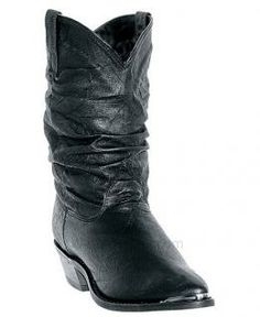 Women's Charlie Slouch Cowgirl Boots Round Toe by Dingo