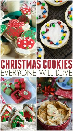 It's December 1st and I already have Christmas cookies on my mind! Here are a bunch of my Family Favorite Christmas Cookies Recipes I know you will love!