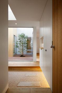 大東の家の部屋 渡り廊下