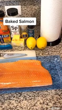 Salmon Recipes, Fish Recipes, Seafood Recipes, Dinner Recipes, Cooking Recipes, Easy Healthy Meal Prep, Easy Healthy Recipes, Easy Meals, Salmon Dishes