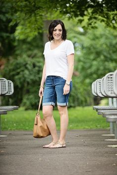 2a5efc1d1b How to Wear Bermuda Shorts Without Looking Frumpy