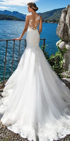 24 Amazing Milla Nova Wedding Dresses ❤ See more: http://www.weddingforward.com/milla-nova-wedding-dresses/ #wedding