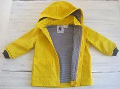 Petit bateau kids raincoat