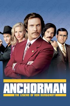Anchorman: The Legend of Ron Burgundy (2004) Click Image to watch this movie