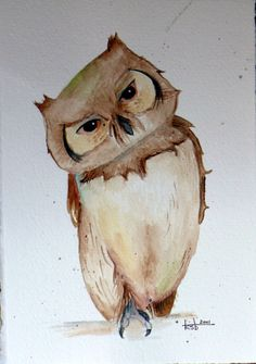 'Owl' by Kimberli Bouchard