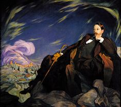 Ignacio Zuloaga - Retrato de Enrique Larreta