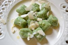 Rucola Gnocchi - Rucola Gnocchi - Kartoffel Nocken mit Rucola
