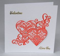 Two Hearts Together Card