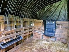 Not the prettiest, but could make a good garden shelter...How to Make a Quick Shelter out of Pallets - The Free Range Life