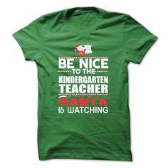 Xmas Gift For Kindergarten Teacher T-Shirts, Hoodies, Sweatshirts, Tee Shirts (22.99$ ==> Shopping Now!)